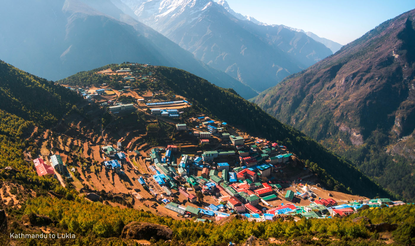 Namche Bazaar Everest Trek