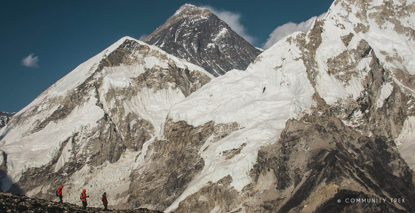 Everest View from Kala Patthar.