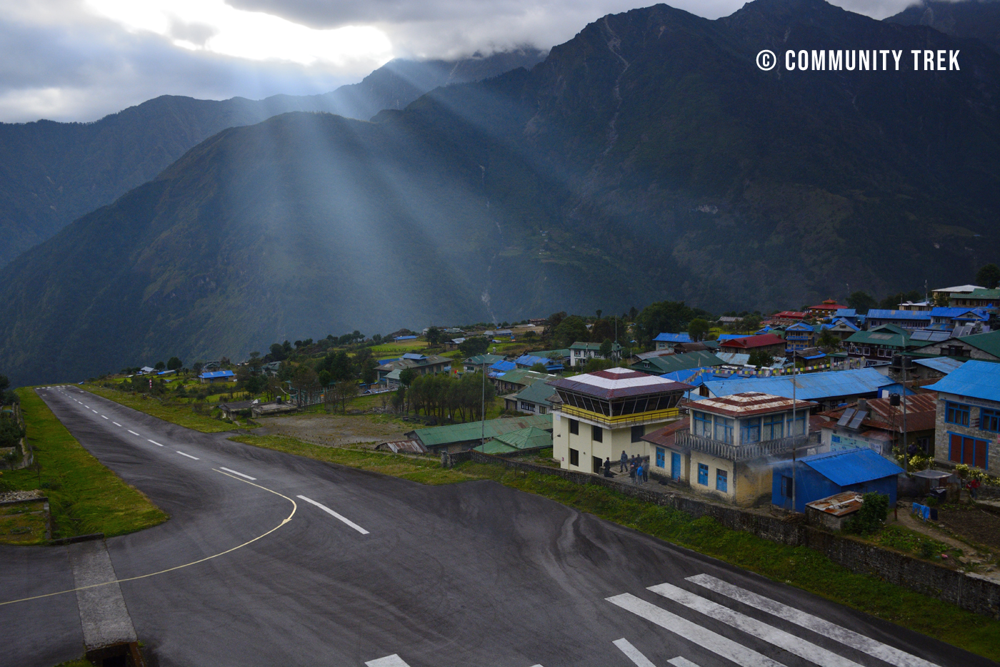 Lukla Airport Everset