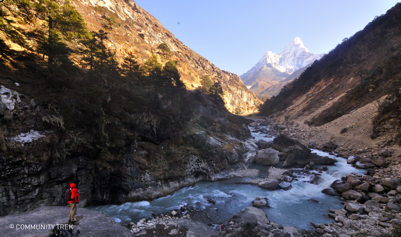 River in Everest