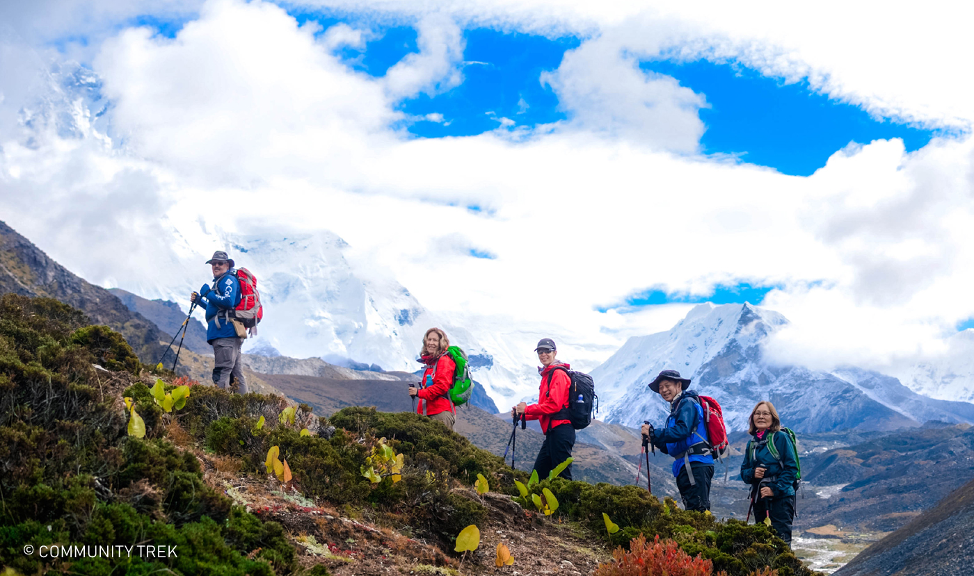 Trekking in Everest Basecamp Nepal