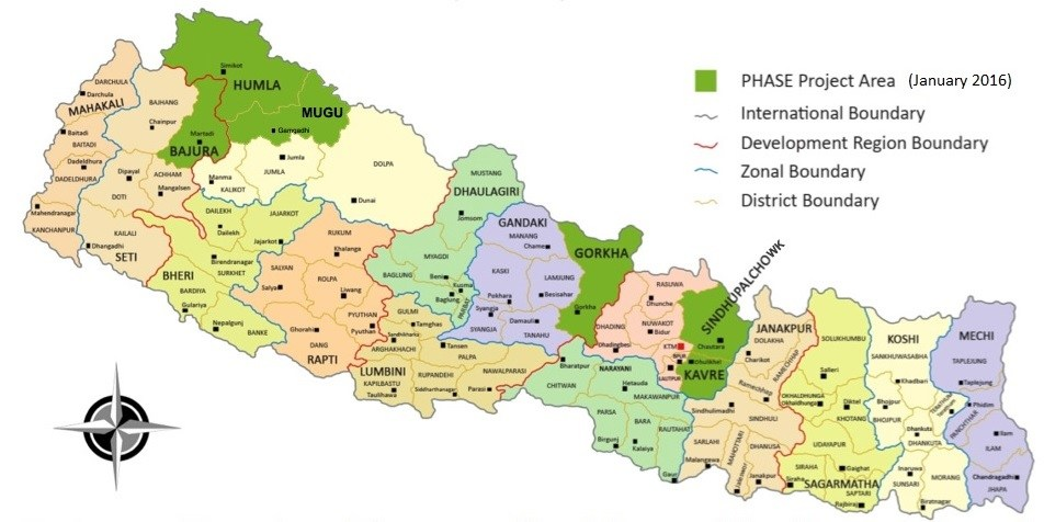 Good Map of Nepal