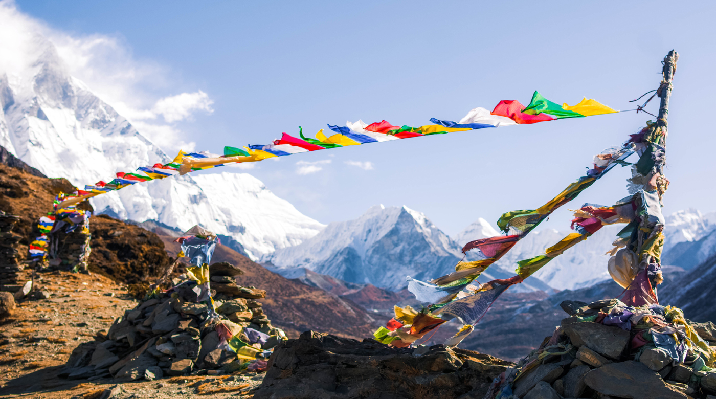 Prayer- Flags from Himalayas